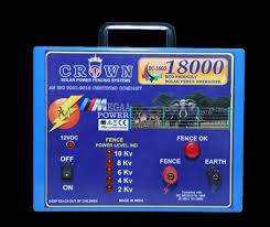 Crown Solar Power Fencing Systems Coimbatore Manufacturer Of Solar Fence Energizer And Solar Fence Accessories