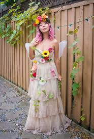 woodland fairy costume and makeup