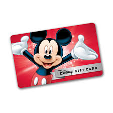 walt disney world gift card paralily