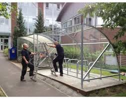 10 Space Bike Shelter 10 Space Cycle Shelter