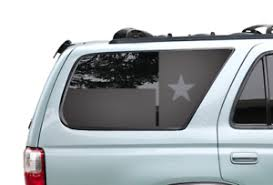 State Of Texas Flag Decals Fits Rear Window 1995 2002 Toyota 4runner Trd Tf15 Ebay