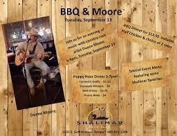 Country rock artist Duane Moore is... - Shalimar Golf Club | Facebook