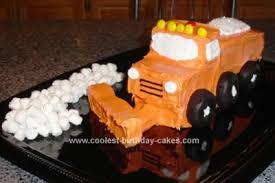 coolest snowplow cake