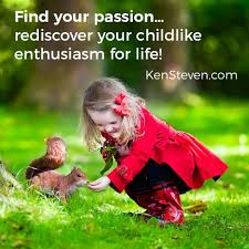 happiness is living childlike enthusiasm for each day