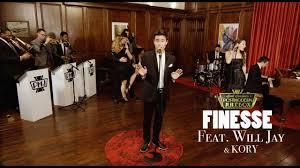Finesse (Karaoke Version) - Scott Bradlee's Postmodern Jukebox   Shazam