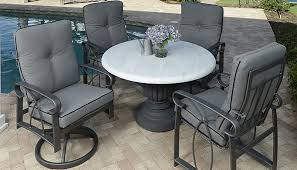 perfect size patio dining table