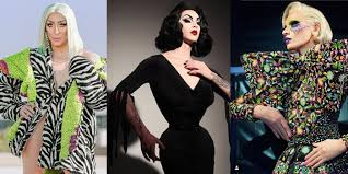 10 most fashionable drag queens to