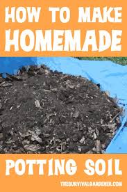 how to make homemade potting soil with