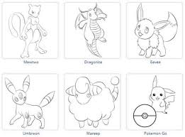 Download Printable Pokemon Coloring Pages Using 10 Free Websites