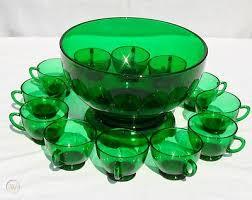 wohnen green depression mixing bowl set