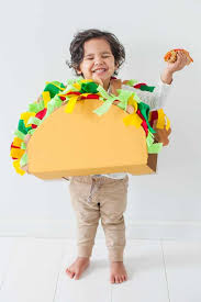 how to make a diy taco costume for kids