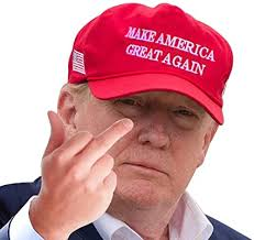 Amazon Com Aahs Donald Trump Decals Car Stickers Funny Window Peel Off Political Trump Middle Finger Rtside Arts Crafts Sewing