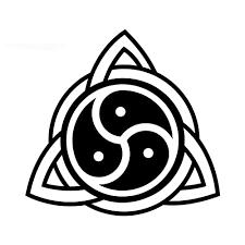 Amazon Com Bdsm Celtic Knot Triskelion Vinyl Car Window Decal Sticker Handmade