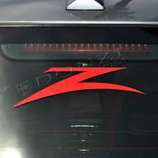Donzi Z Logo Red Vinyl Decal 6 Wide Car Truck Trailer Decals Decals Logos