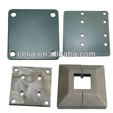 Metal Aluminum Alloy Post Base Plate Fence Components Manufacturer Buy Post Base Plate Steel Post And Beam Plates Plastic Base Plate Product On Alibaba Com