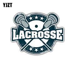 Yjzt 12 7cm 9 8cm Lacrosse Sport Grunge Label Pvc Decorative Car Sticker Decal 11 00032 Car Stickers Aliexpress