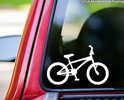 Bmx Bike Vinyl Decal Sticker 5 5 X 3 5 Bicycle Racing Freestyle Minglewood Trading