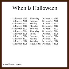 When Is Halloween This Year? 2019, 2020, 2021, 2022, 2023, 2024, 2025, And  2026 - What Is Today