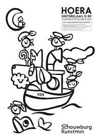 Sieb En Sinterklaas Kleurplaat Zwijndrecht Net