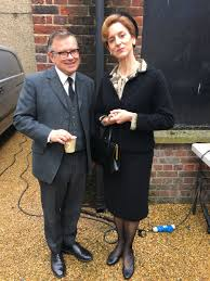 """abigail thaw on Twitter: """"Dotty and Max chillin #Series5 #Endeavour (Or May  and Gove? 🙀)… """""""