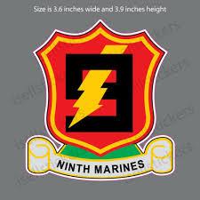 Ma 3131 7th Marine Infantry Regiment Usmc Semper Fi Bumper Sticker Window Decal
