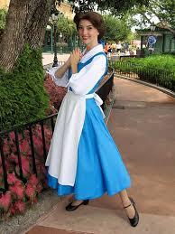 belle blue dress costume belle blue