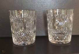 2 waterford crystal millenium double