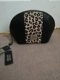 biba leather cosmetic bag ebay