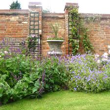 planting design for a walled garden