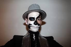 crazy sugar skull makeup for men