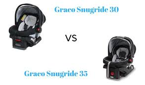 graco snugride 30 vs 35 car seat which