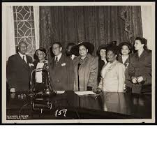 A. Philip Randolph, Lucille Campbell Green, Vincent Impellitteri ...