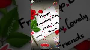 Friendship day song - YouTube