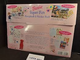 Sold Price Barbie Super Fun Storybook And Sticker Pack With Over 100 Colorful Reusable Vinyl Play Stickers 100 Reusable Paper Stickers A Double Sided Playboard And A Full Color Sticker Story Book