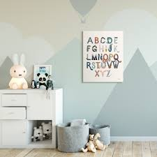 Shop The Kids Room By Stupell Alphabet Animals Instruments Kids Nursery Design 16x20 Proudly Made In Usa Multi Color Overstock 28700204