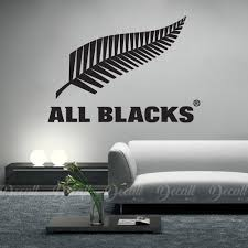 New Zealand All Blacks Rugby Wall Decal Car Sticker Vehicle Decal Decall Ca