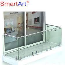 glass barade balcony railing
