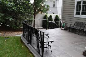 exterior railings compass iron works