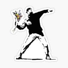 Banksy Stickers Redbubble