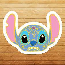 Lilo Stitch Sugar Skull Disney Calavera Die Cut Car Window Vinyl Decal Sticker Ebay