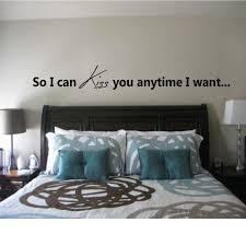 So I Can Kiss You Anytime I Want Quote Wall Decal Etsy