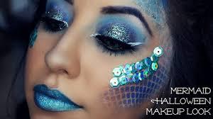 mermaid halloween makeup look you