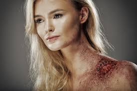 zombie bite halloween makeup tutorial
