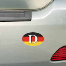 Flag Germany Bumper Stickers Decals Car Magnets Zazzle