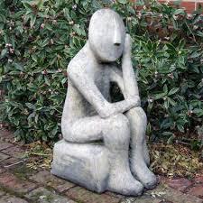 oliver modern stone statue