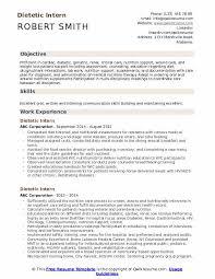 tetic intern resume sles qwikresume