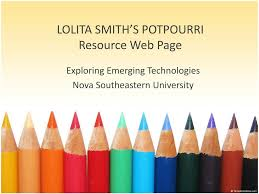 PPT - LOLITA SMITH'S POTPOURRI Resource Web Page PowerPoint Presentation -  ID:2533165