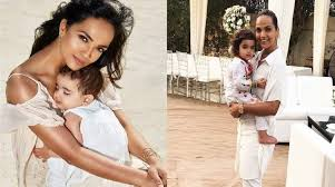 Aamina Sheikh Twinning With her daughter