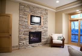 fake stone fireplace fireplace design