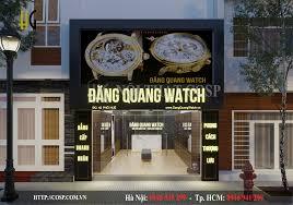 Thiết kế shop đồng hồ Đăng Quang - phố Huế